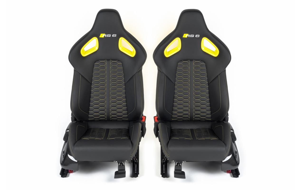 Automotive Sattlerei im Interioer-Bereich. Hier ein Beispiel von Sitzen.